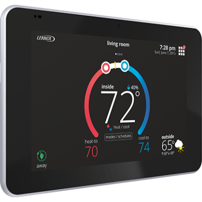 Lennox iComfort S30 thermostat.